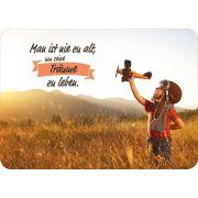 Postkarte - Man ist nie zu alt, um seine Träume zu leben.