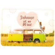 Postkarte - Zuhause ist wo Du bist