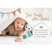 Faltkarte - Zur Taufe alles Liebe!