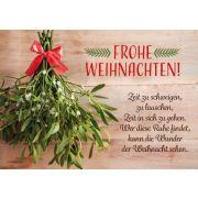 Faltkarte - Frohe Weihnachten!...