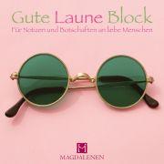 Gute Laune Block Sonnenbrille