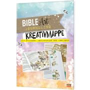 Bible Art Journaling. Kreativmappe mit Stickern, Motivpapier und Vorlagen