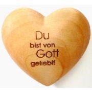 """Handschmeichler Herz """"Du bist von Gott geliebt"""""""