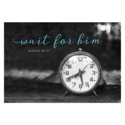 Postkarte - Wait for him
