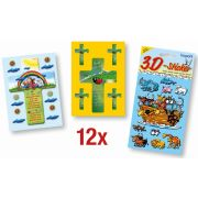 Spar-Paket: 3D-Sticker
