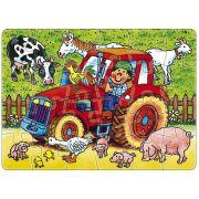 Mini-Puzzle: Bauernhof