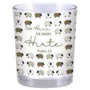 """Votivglas """"Der Herr ist mein Hirte"""" (Gold-Edition)"""