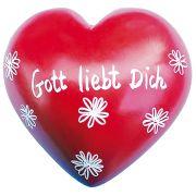 Handschmeichler-Herz: Gott liebt Dich
