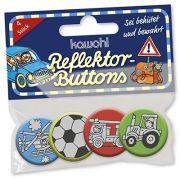 """Reflektor-Buttons """"Junge"""""""