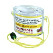 Lupendose oval - neon gelb