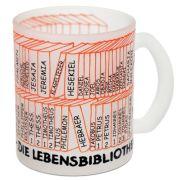 """Glastasse """"Bücher der Bibel"""""""