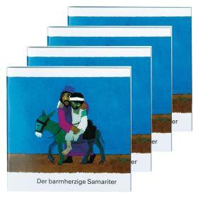 Der barmherzige Samariter - 4er Set