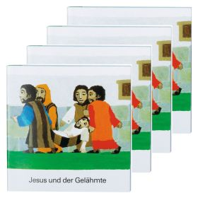 Jesus und der Gelähmte - 4er Set