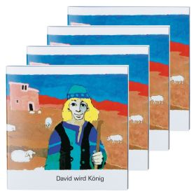 David wird König - 4er Set