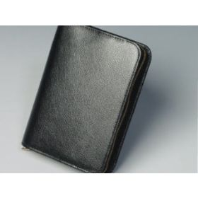 Bibelhülle Rindleder 18,5x12,7x5 - schwarz
