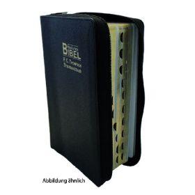 NeueLuther Bibel - F.C. Thompson Studienausgabe mit Reißverschluss