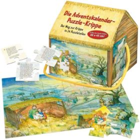Die Adventskalender- Puzzlebox