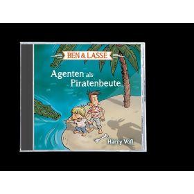 Ben & Lasse - Agenten als Piratenbeute. Hörbuch