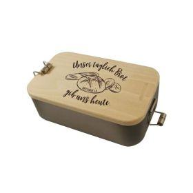 """Lunchbox """"Unser täglich Brot"""""""