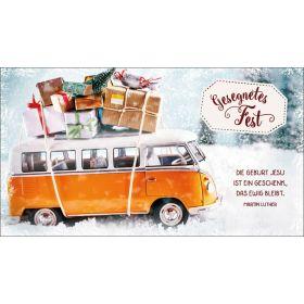 """Schokoladengrüße """"Geburt Jesu ist ein Geschenk"""" (40g)"""