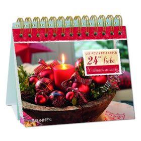 24+2 liebe Weihnachtswünsche - Aufstellbuch