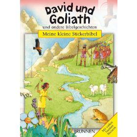 Meine kleine Stickerbibel - David und Goliath