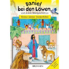 Meine kleine Stickerbibel - Daniel bei den Löwen