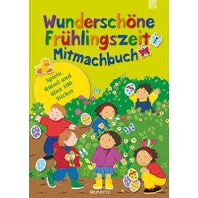 Wunderschöne Frühlingszeit - Mitmachbuch