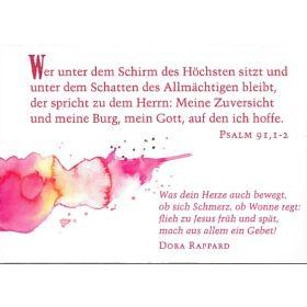 Spruchkärtchen mit Bibelworten 3