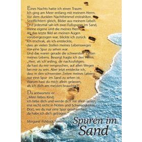 Spuren im Sand - 12 Postkarten