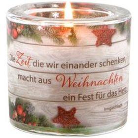 """Windlicht LichtMomente """"Fest für das Herz"""""""