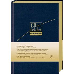 Elberfelder Studienbibel - Leder, Goldschnitt