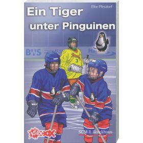 Ein Tiger unter Pinguinen