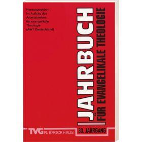 Jahrbuch für evangelikale Theologie 2016