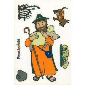 Folienpostkarte Das verlorene Schaf