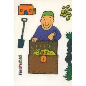 Folienpostkarte Der Schatz im Acker