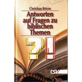 Antworten auf Fragen zu biblischen Themen
