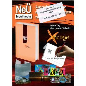 NeÜ bibel.heute Xchange - Box mit Umschlägen