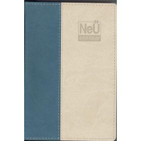 NeÜ Bibel.heute - Taschenausgabe - beige/petrol