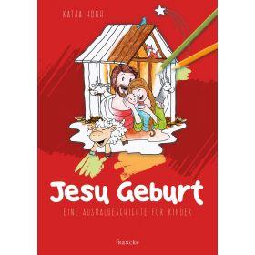 Jesu Geburt - Malbuch