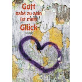 "Postkarten 10-Serie ""Gott nahe zu sein"" - Wandherz"