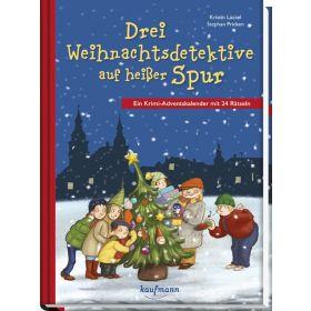Drei Weihnachtsdetektive auf heißer Spur - Adventskalender
