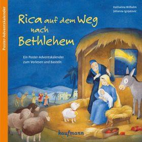 Rica auf dem Wem nach Bethlehem - Adventskalender