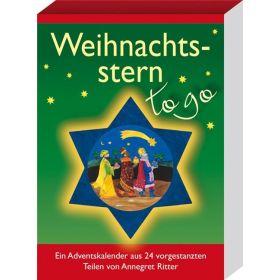 Weihnachtsstern to go - Adventskalender