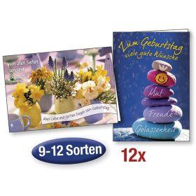 """Spar-Paket: Faltkarten """"Geburtstag"""""""