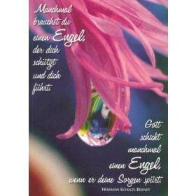Postkarten: Manchmal brauchst du einen Engel, 12 Stück