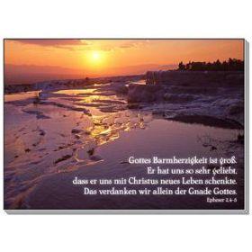 Postkarten: Gottes  Barmherzigkeit ist groß, 12 Stück