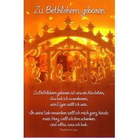 CD-Card: Zu Bethlehem geboren - Weihnachten