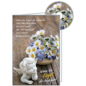 CD-Card: Wenn ein Engel dir begegnet - Gute Besserung