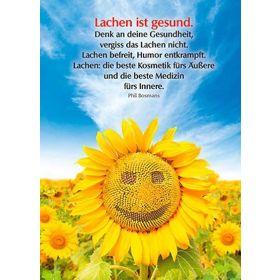 Postkarten: Lachen ist gesund, 4 Stück